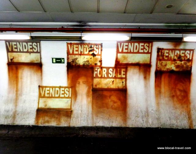Eron metro spagna street art roma