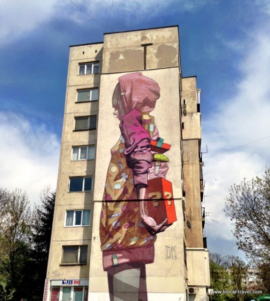 street art by Etam Cru in the Hazdhi Dimitar neighborhood, Sofia