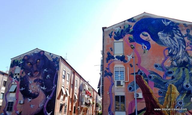 Hitnes San Basilio Roma street art