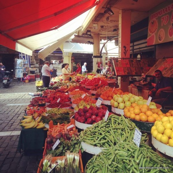 food market Thessaloniki
