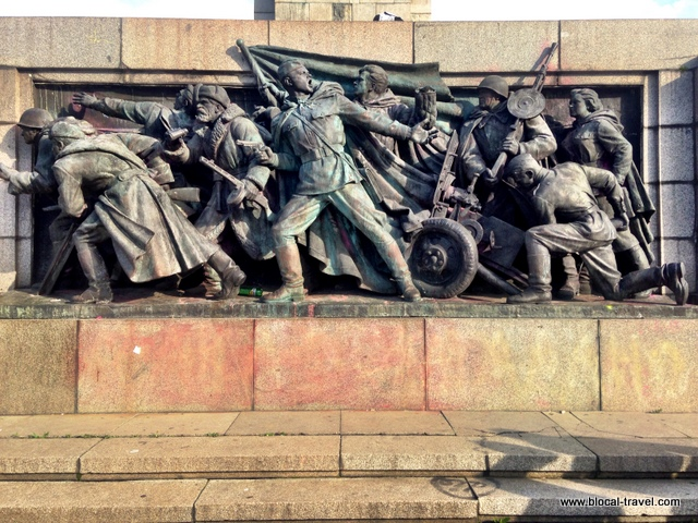monument of the soviet army, sofia