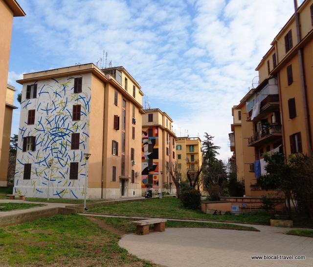street art tor marancia rome