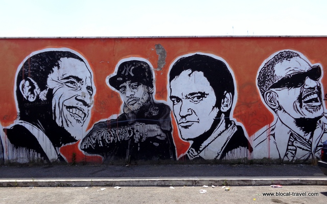 wall of fame by JBRock street art ostiense roma