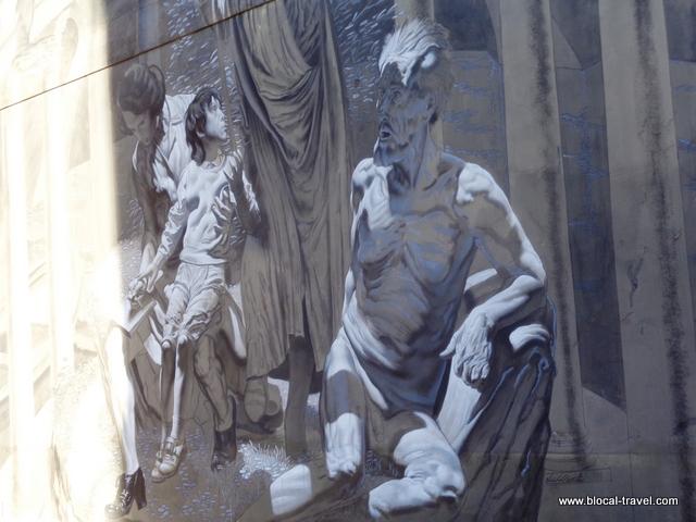 pasolini street art torpignattara nicola verlato hostia