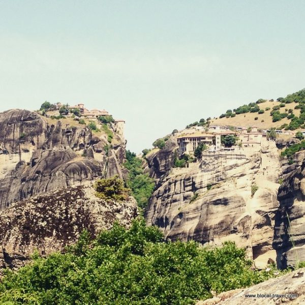 Meteora monasteries Greece hike