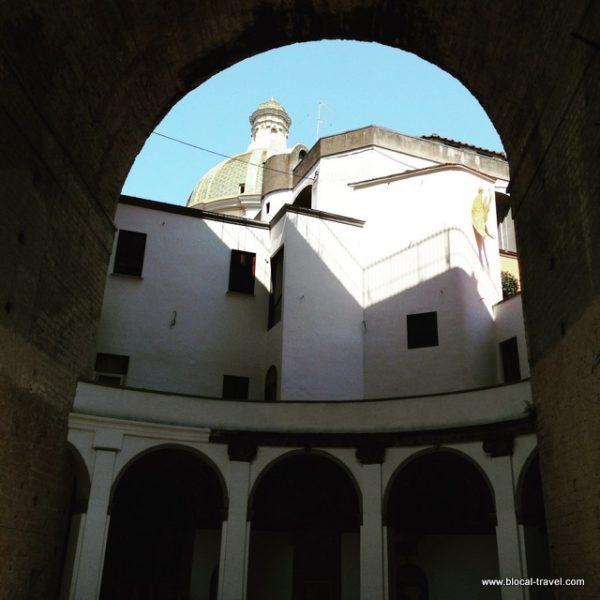cloister Santa Maria alla Sanita Naples