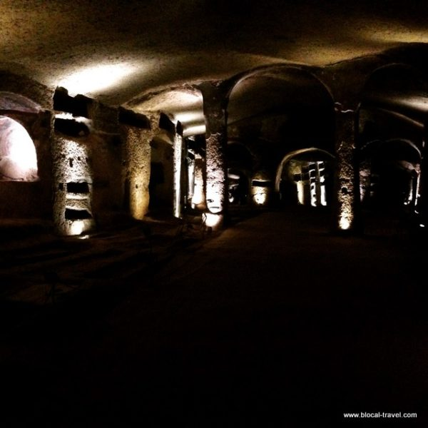 catacombs san gennaro Naples
