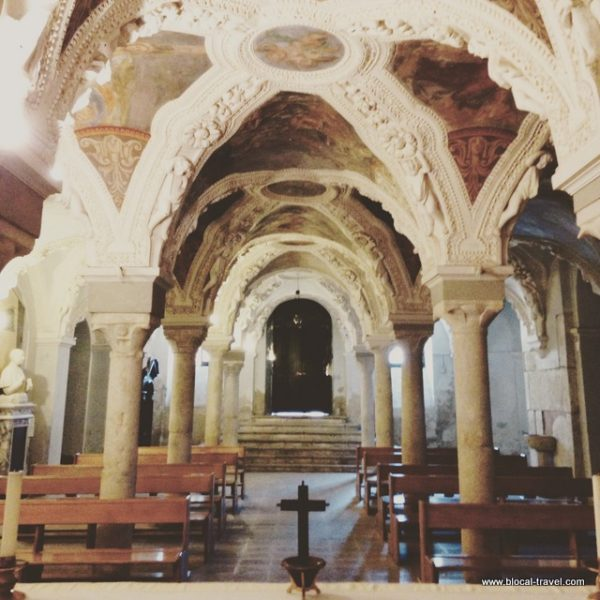 crypt cathedral Avellino, Italy