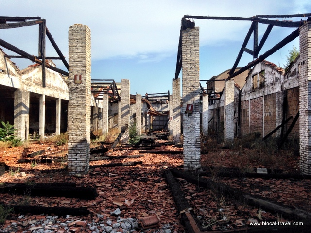 industrial archaeology mira lanza ostiense rome