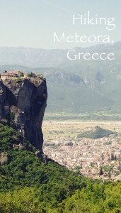Hiking Meteora Greece