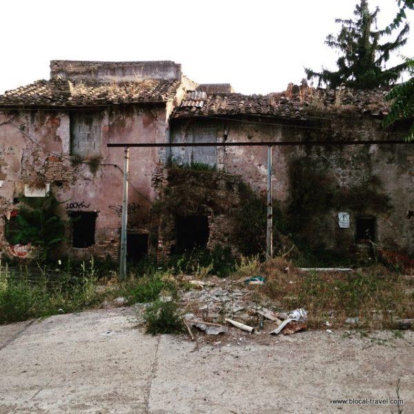 santa passera magliana abandoned hamlet