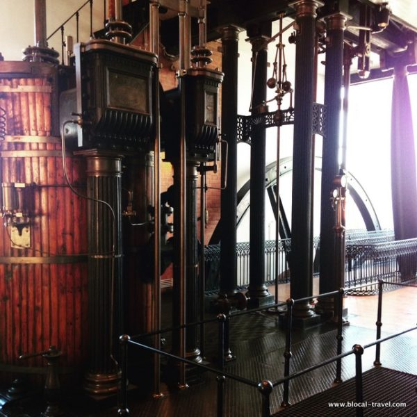 The Barbadinhos Steam Pumping Station, Lisbon, industrial archaeology Lisbon