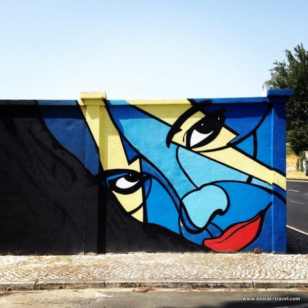 Ayako street art lisbon