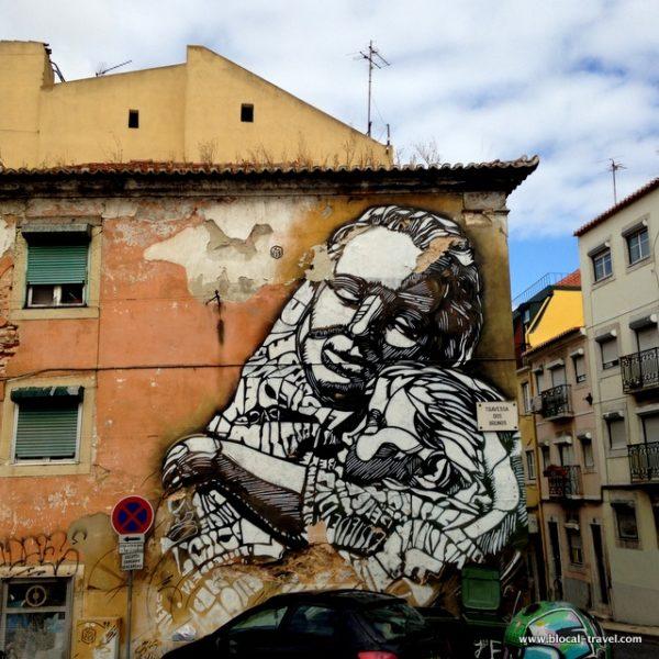 C215 street art Lisbon