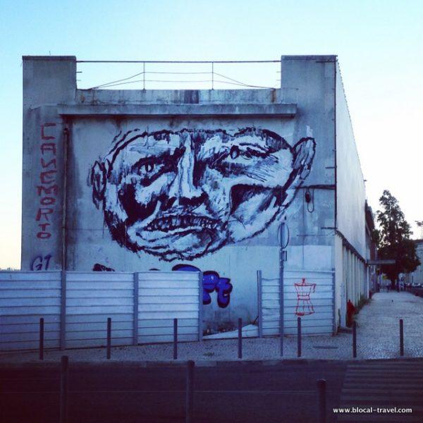 Canemorto street art Lisbon