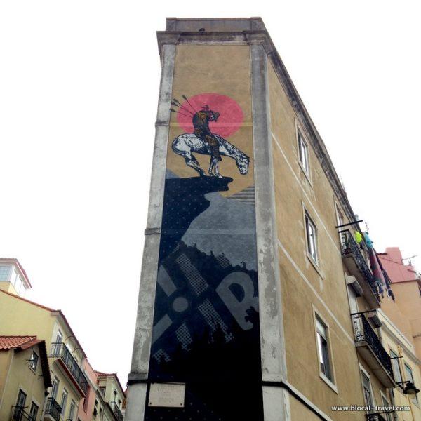 Cyrcle street art Lisbon
