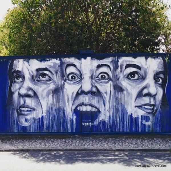 Draw street art lisbon