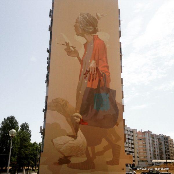 Etam Cru street art lisbon
