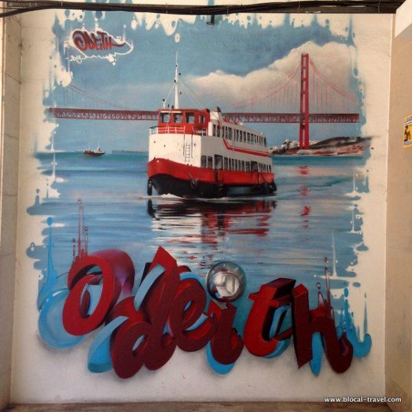 Odeith street art Lisbon