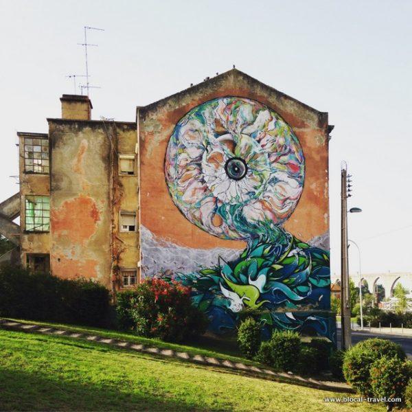 Ram Klit campolide street art lisbon