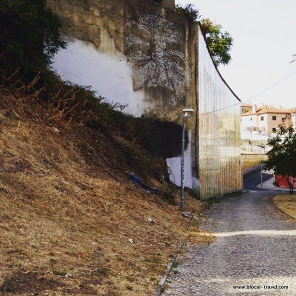 Vhils campolide street art Lisbon