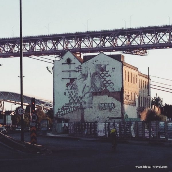 Vhils street art Lisbon