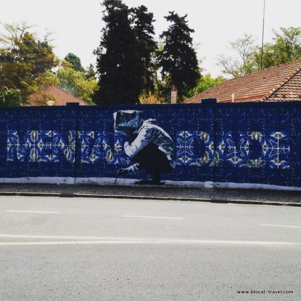 addfuel eime blue wall lisbon street art