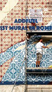 addfuel mural in rome