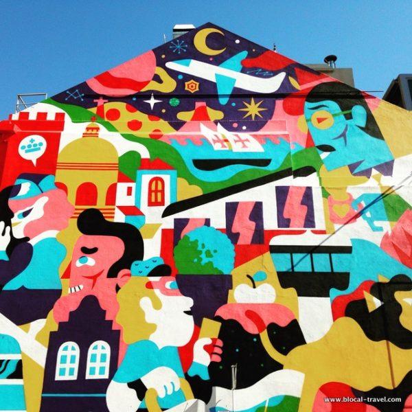 akacorleone + hedof street art lisbon