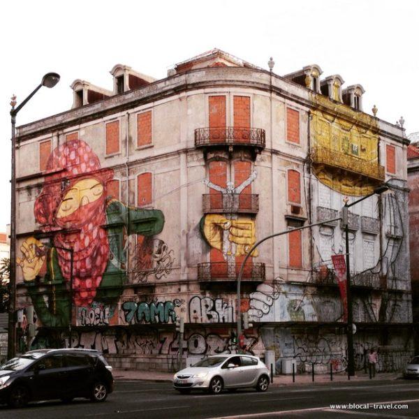 blu os gemeos street art lisbon