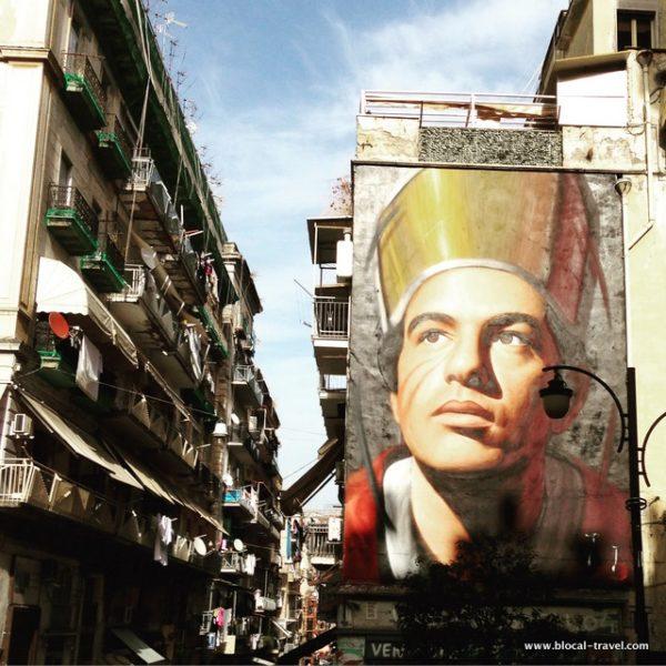 san gennaro street art mural naples