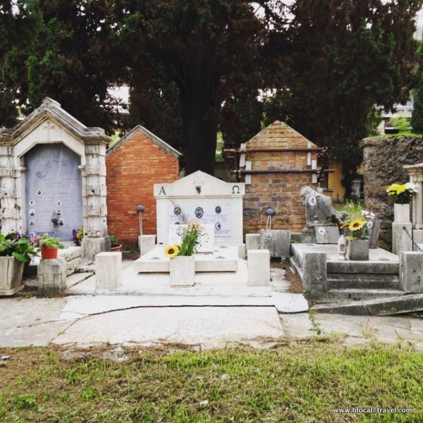 Cimitero della Parrochietta Roma cemetery Rome