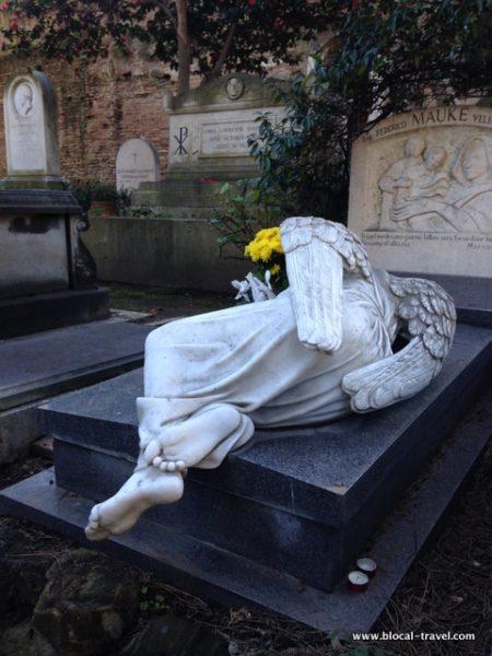 cimitero acattolico roma