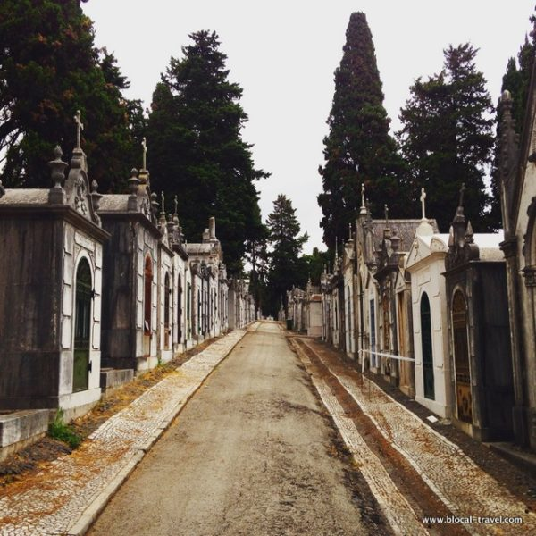 Prazeres Cemetery, Lisbon, Portugal