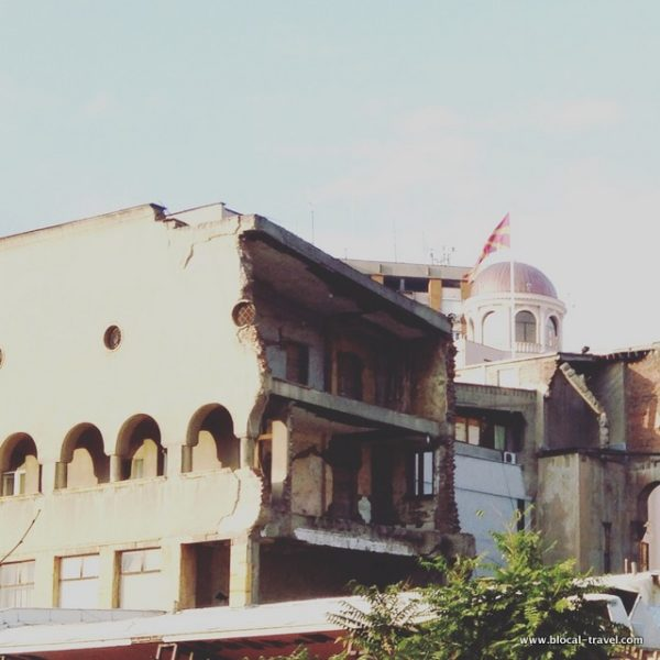 old railway station skopje macedonia