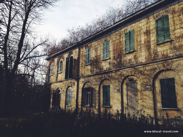 abandoned places in Lombardy Italy