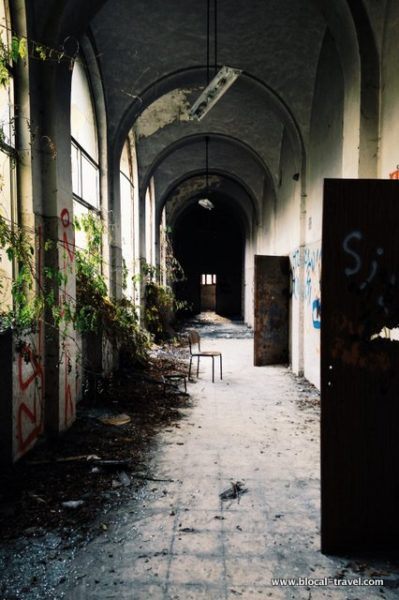 Mombello abandoned places in Lombardy Italy