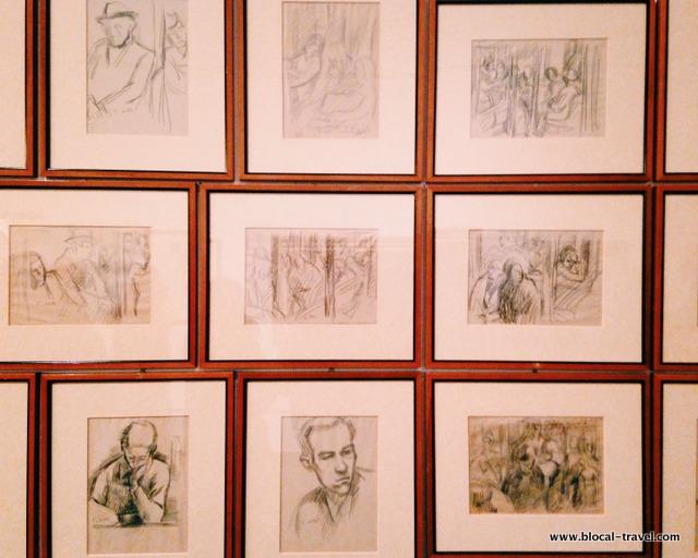 Emilio Notte, Disegni sotto le bombe (1941 - 1944)