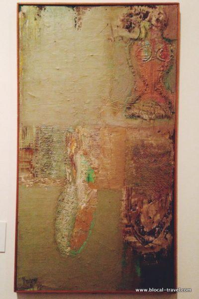Domenico Spinosa, Interno con manichino (1960)