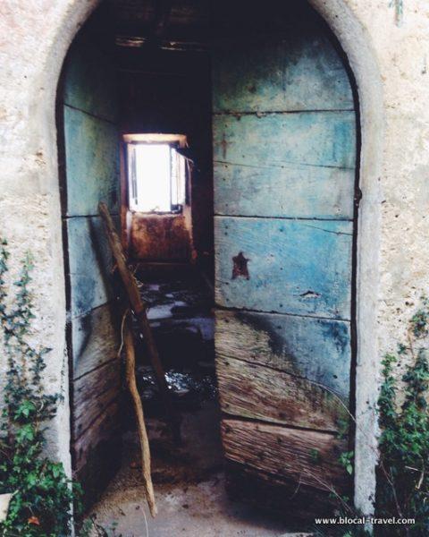 Borgo Forglieta ghost town lazio Italy