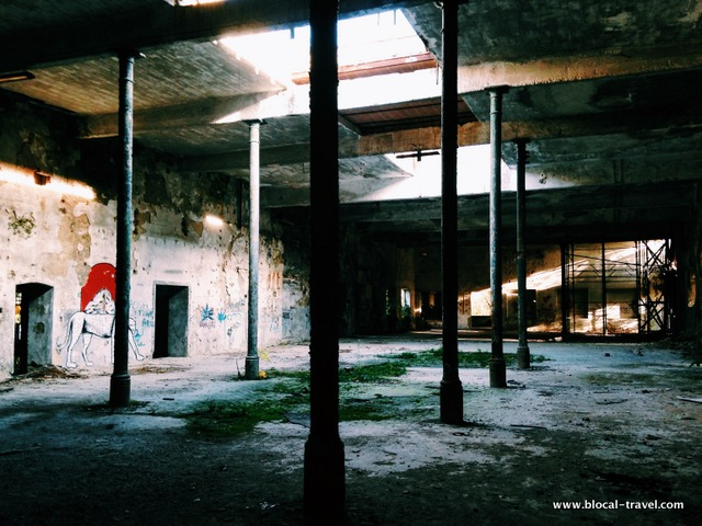 abandoned paper factory vita mayer in ceprano italy