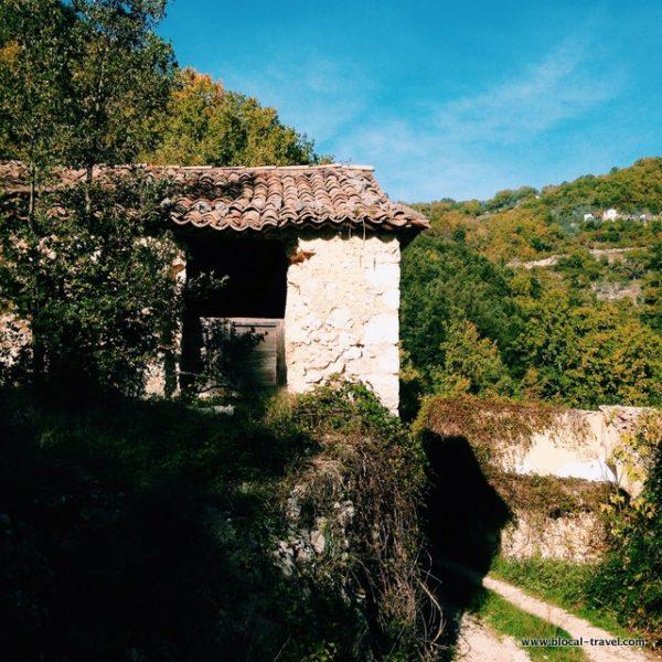 Montecoccioli ghost town lazio Italy
