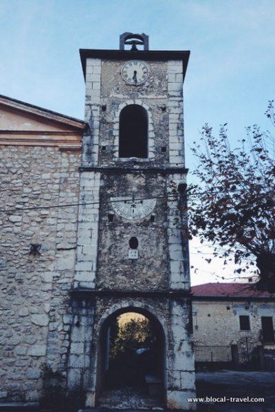 San Gennaro ghost town lazio Italy