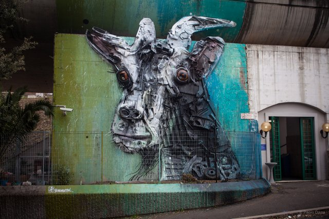 Bordalo II in Rome