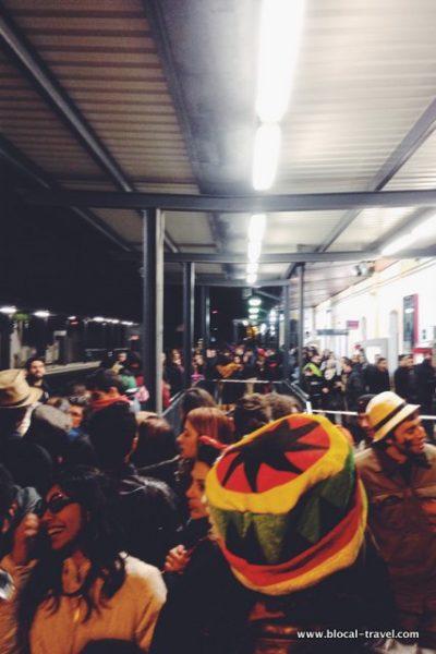 sitges carnival train