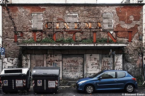 abandoned cinema Rome