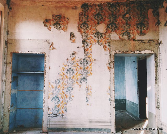 Leri Cavour ghost town vercelli italy