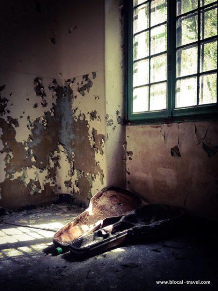 Vercelli abandoned mental asylum italy