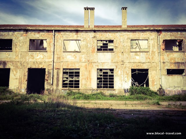 ex-montefibre vercelli industrial archaeology