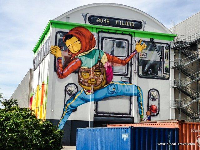 Efemero Os Gemeos street art Milan